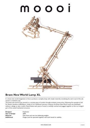 Brave New World Lamp