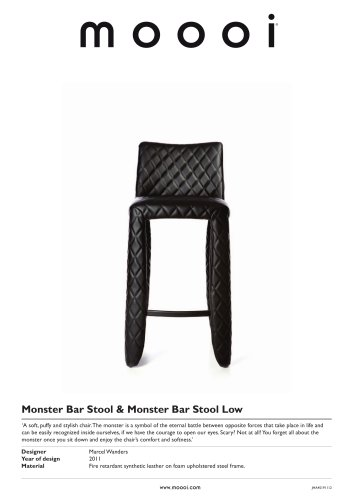 Monster Bar Stool