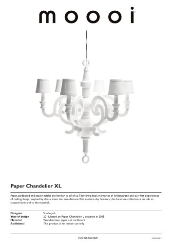 Paper Chandelier XL