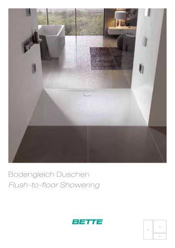 Flush-to-floor Showering