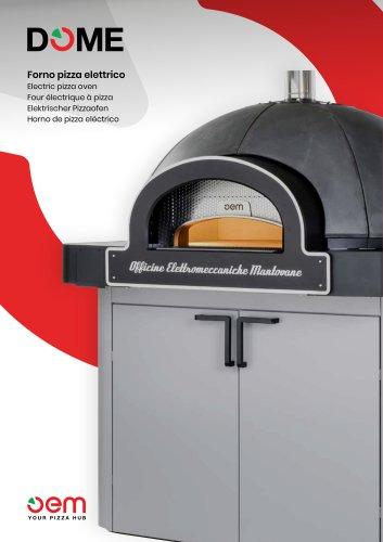 DOME - Horno pizza eléctrico
