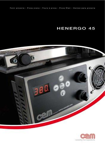 Hornos ventilado - Serie HENERGO 45