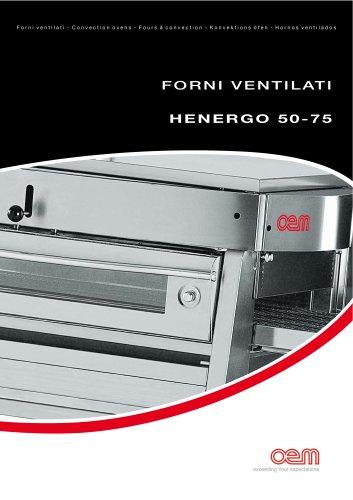 Hornos Ventilados – serie HENERGO 50-75