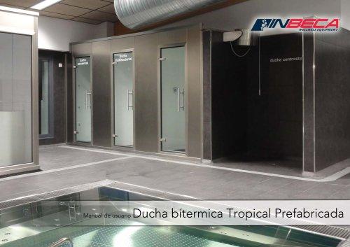inbeca manual ducha tropical prefabricada