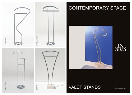 Insilvis - Contemporary Space - Valet Stands