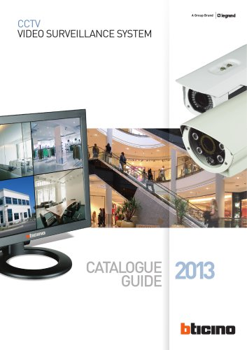 Video Surveillance System - Catalogue 2013