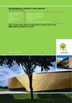 Environmental Product Declaration-TECU® Alloys