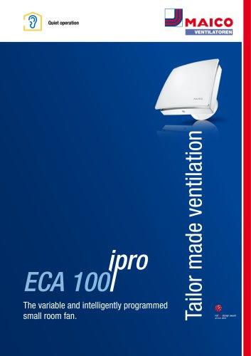 Brochure ECA 100 ipro