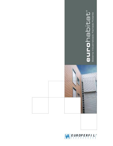 Catálogo Sistema de Fachada Ventilada EUROHABITAT