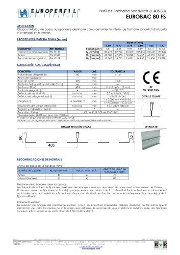 EUROBAC 80 FS