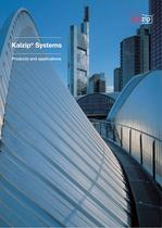 Kalzip systems brochure - Products and applications