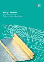 Kalzip Systems - Product information and specification