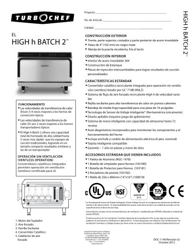 High h Batch 2