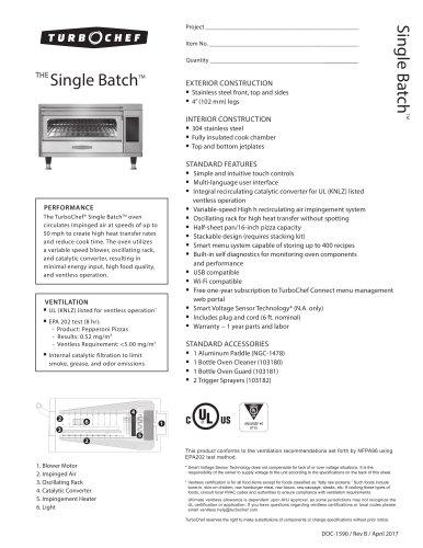Single Batch