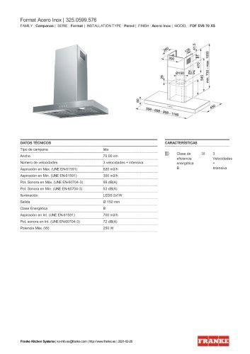 Format Acero Inox | 325.0599.576