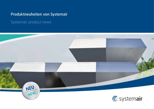 Systemair product news