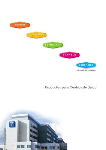 Productos para Centros de Salud de Bobrick