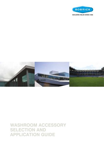 Washroom Accessory Selection & Application