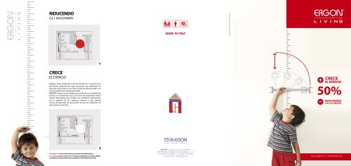 Celegon - Brochure Ergon Living - ES
