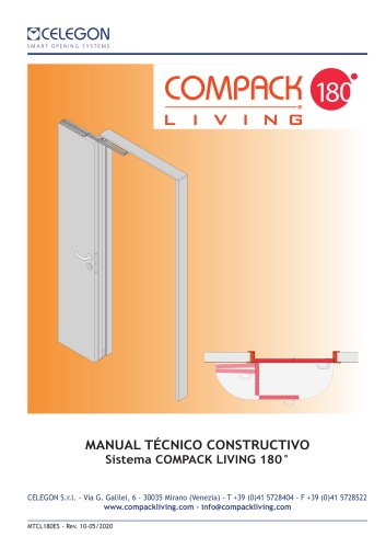 Celegon - Manual Tecnico Compack Living 180°