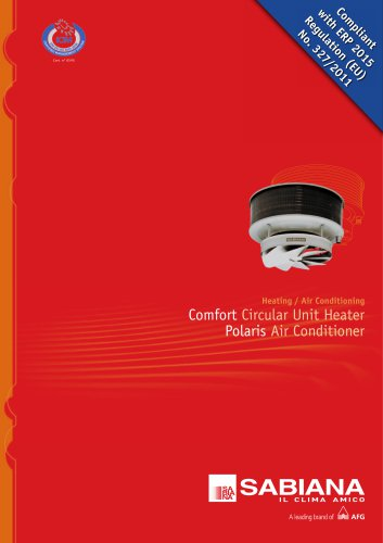 Comfort Circular Unit Heater Polaris Air Conditioner