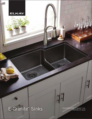 E-Granite ™ Sinks