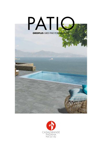 Gresplus - Patio