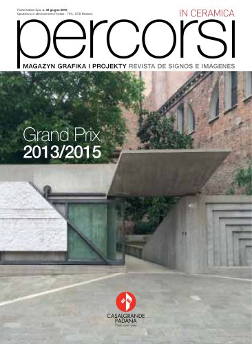 Percorsi in ceramica 33 - Grand Prix