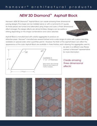 · Asphalt 3-D Diamond Flyer