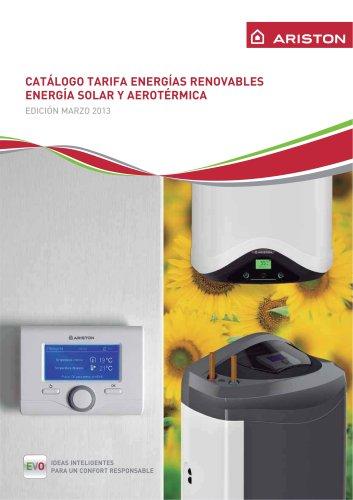 CATÁLOGO TARIFA ENERGÍAS RENOVABLES - EDICIÓN MARZO 2013