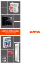 DOMOTICS POWER BUILDING TRADE CATALOGUE