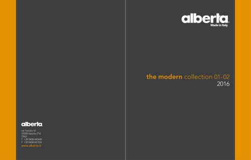 the modern collection 01- 02 2016