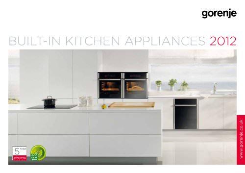 Catalogue Built-in kitchen appliances 2012