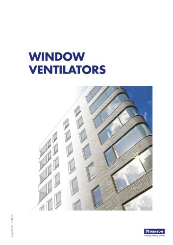 Window ventilators