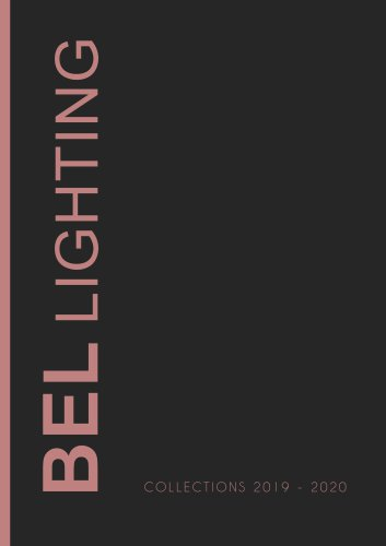 BEL LIGHTING COLLECTIONS 2019 - 2020