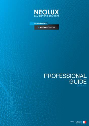 Professionnal guide NEOLUX 2013