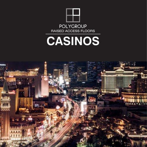 Suelo Técnico Elevado para Casino Polygroup