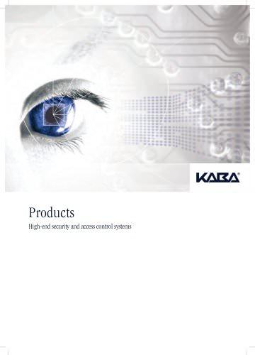 Kaba overview brochure