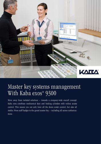 Master key systems management