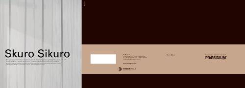 Brochure of Praesidium Skuro Sikuro
