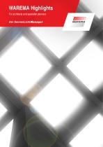 Brochure WAREMA Highlights Architects