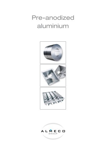 LIGHTING prenodized aluminium