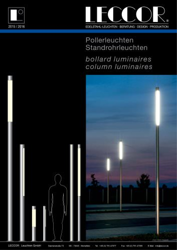 Bollard Lights   Light Columns