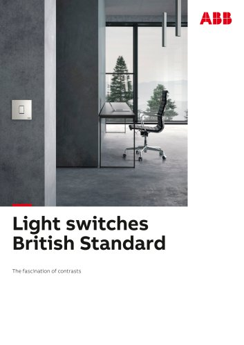 Light switches British Standard