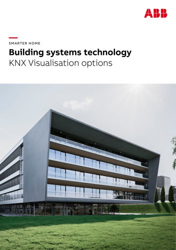 SMARTER HOME Building systems technology KNX Visualisation options