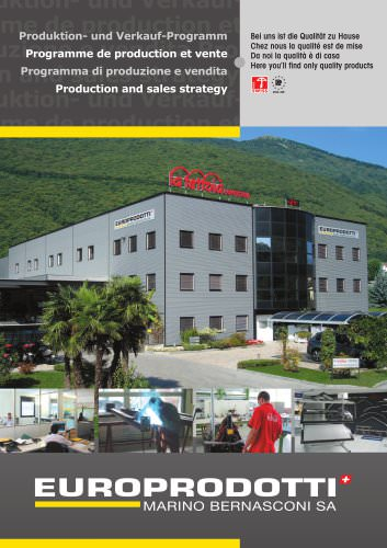 Production and sales strategy