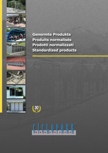 Standardized products - CICLOPARK