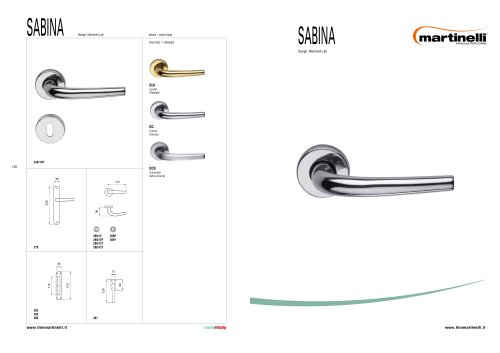 Handles/contemporary:Sabina