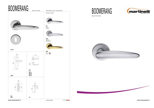 Handles/design:Boomerang