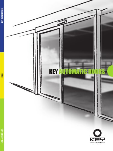 WIND 2009 - Key Automatic doors